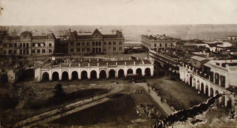 Casa de Gobierno, Palacio de Correos y Recova