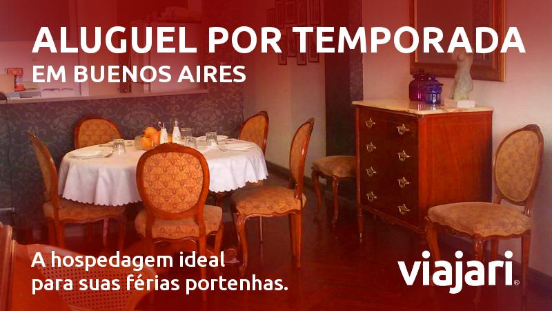 Aluguel por temporada em Buenos Aires
