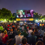 Noites de cinema drive-in no Rosedal