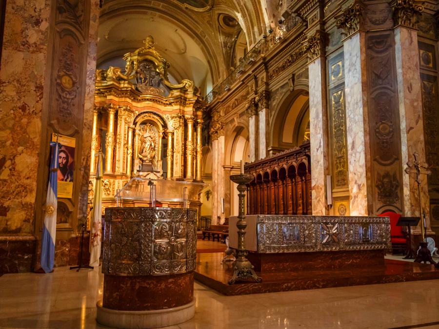 Altar Mor da Catedral Metropolitana de Buenos Aires