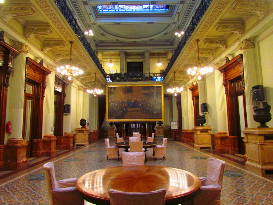 Salón de los Pasos Perdidos - Congreso de la Nación