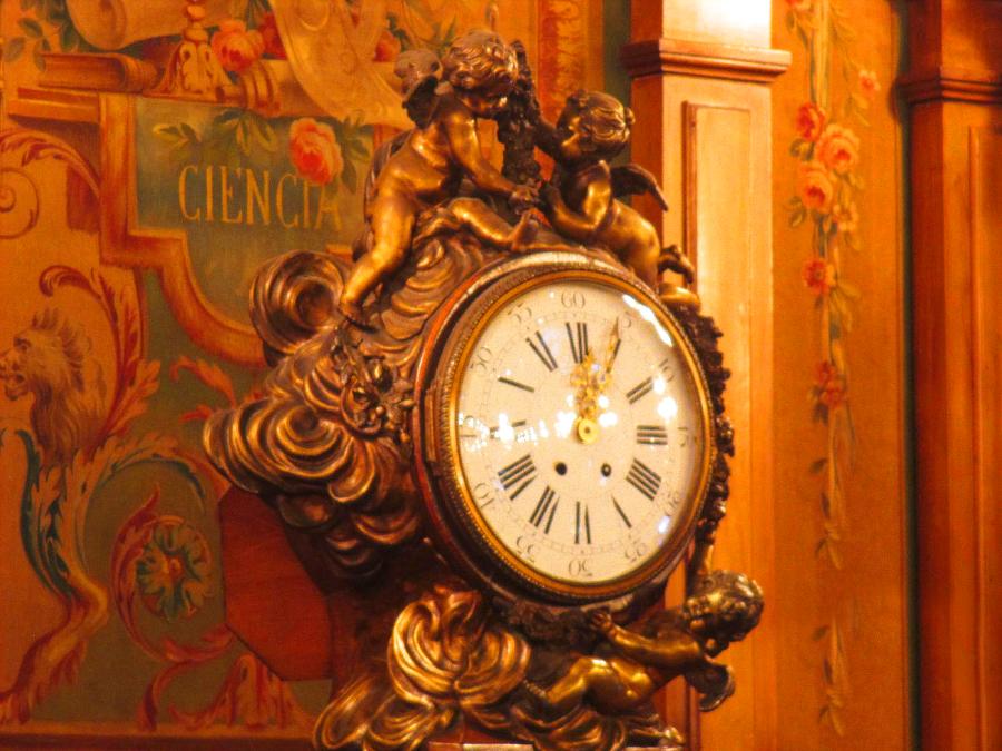Relógio na Biblioteca - Congreso de la Nación