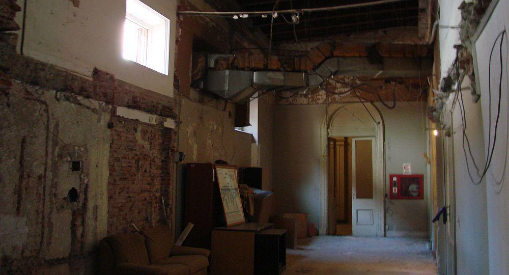 Partes inabitáveis da Casa Rosada