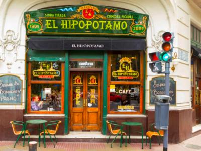 El Hipopótamo - Bar Notável com estilo espanhol