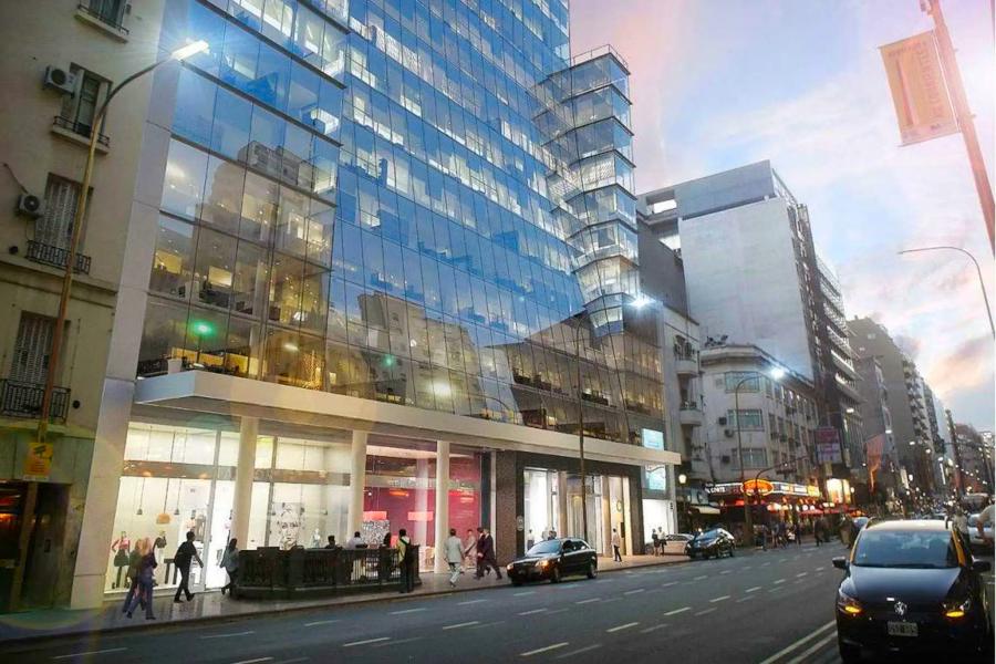 Edifício do novo Teatro Politeama na Avenida Corrientes